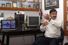 Captain Sandesh Rokade during Defence Photography Workshop 2014