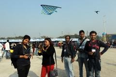 Kite festival at Kolkata 2014