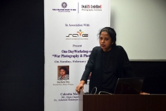 Images Redefined & Public Relations Society of India had organized one day workshop on Photo Essay & War Photography conducted by Sucheta Das & Fayaz Kabli in Kolkata 2013