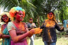 Holi festival at Kolkata 2017