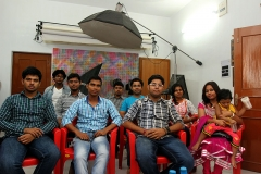 Durga Puja get together at institute 2013